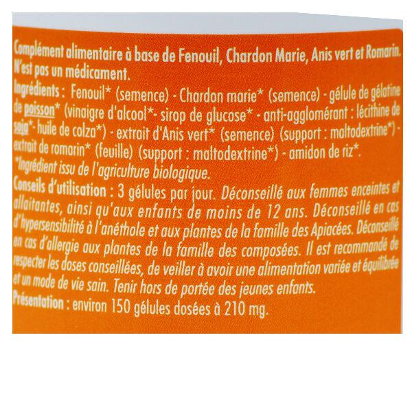 Superdiet Quatuor Bien-Être Digestif Bio 150 gélules