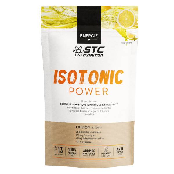 STC Nutrition Isotonic Power goût Citron 525g