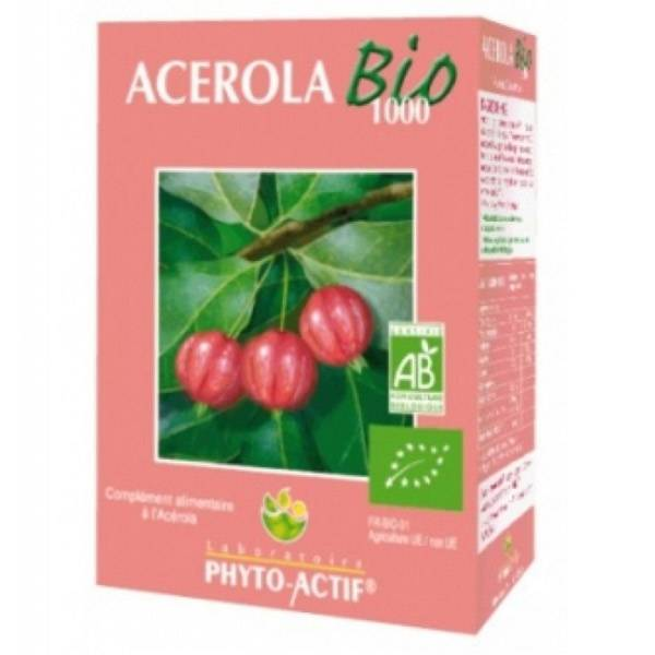 Phytoactif Acérola 1000 Bio 24 comprimés