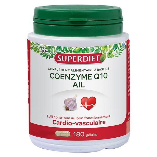 Superdiet Coenzyme Q10 + Ail 180 capsules