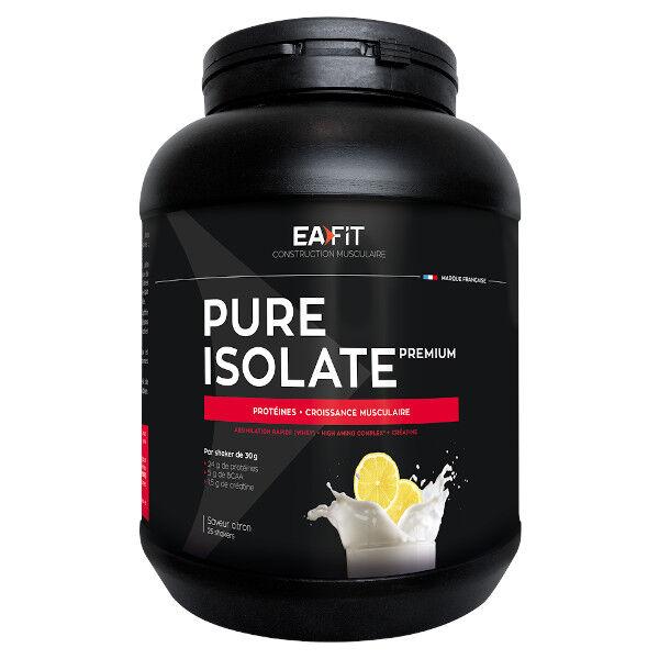 Eafit Pure Isolate Goût Citron 750g