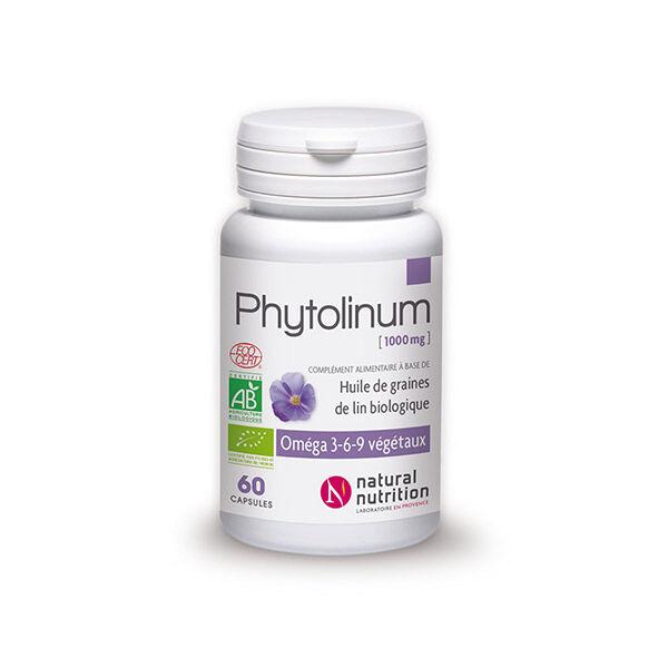 Natural Nutrition Phytolinum Bio 60 capsules