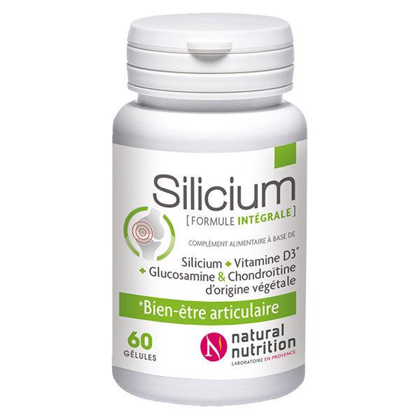 Natural Nutrition Silicium Formule Intégrale 60 gélules