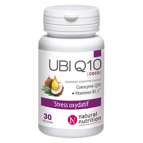 Natural Nutrition Ubi Q10 30 gélules