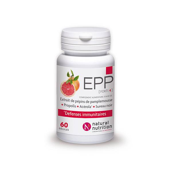Natural Nutrition EPP Forti4 60 gélules