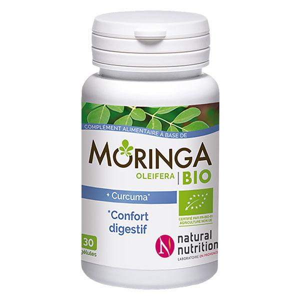 Natural Nutrition Moringa Confort Digestif Bio 30 gélules