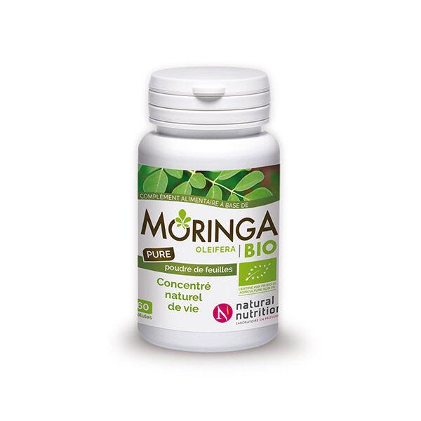 Natural Nutrition Moringa Pure Bio 60 gélules