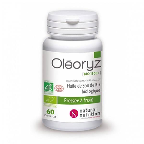 Natural Nutrition Oleoryz Bio 60 capsules