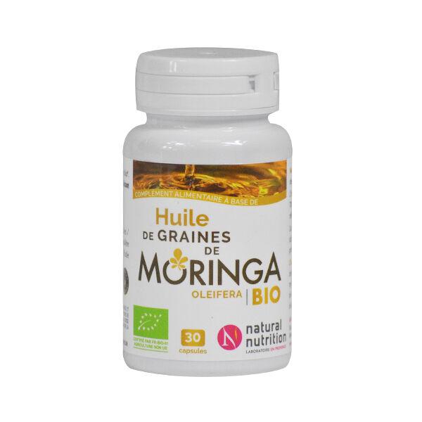 Natural Nutrition Moringa Huile Bio 30 capsules