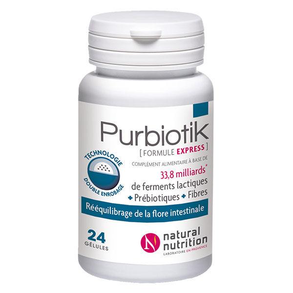 Natural Nutrition Purbiotik Formule Express 24 gélules