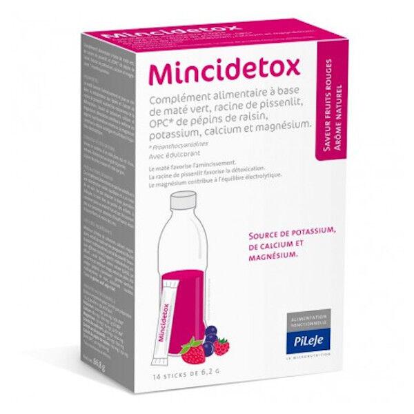 Pileje Mincidetox Fruits Rouges 14 sticks