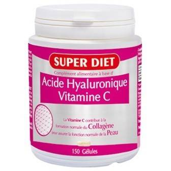 Super Diet Acide Hyaluronique + Vitamine C - 150 gélules
