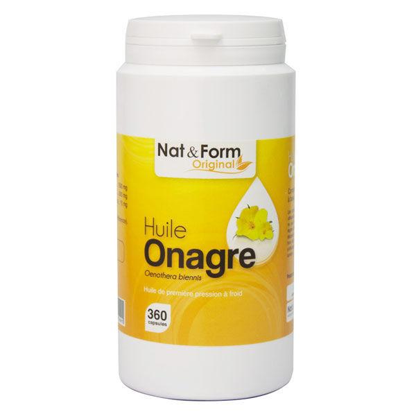 Nat & Form Original Huile Onagre 360 capsules