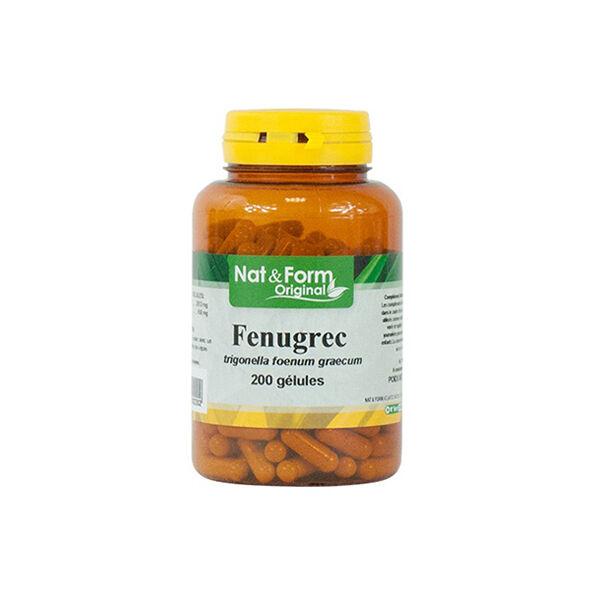 Nat & Form Fenugrec 200 gélules