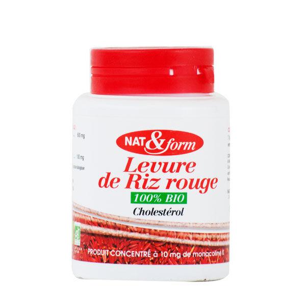 Nat & Form Levure de Riz Rouge Bio 60 gélules