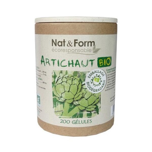 Nat & Form Eco Responsable Artichaut Bio 200 gélules