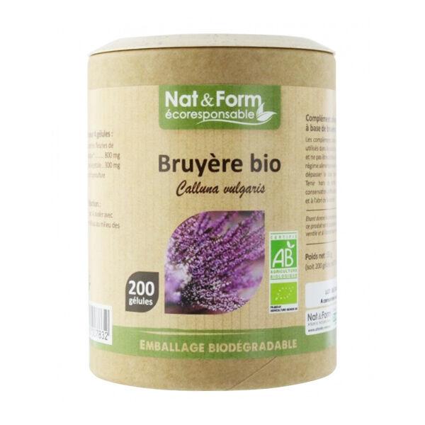 Nat & Form Eco Responsable Bruyère Bio 200 gélules