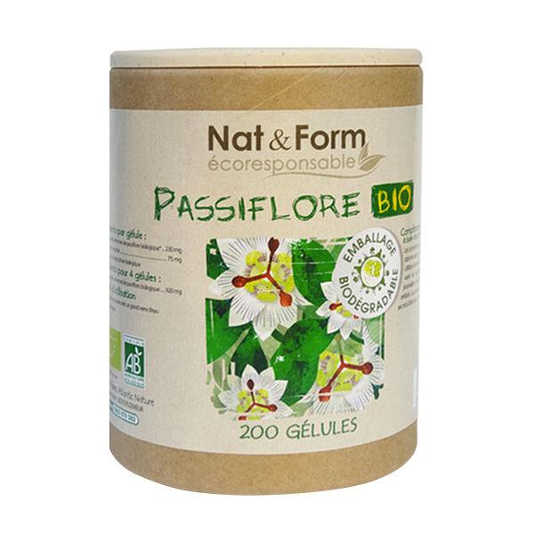 Nat & Form Eco Responsable Passiflore Bio 200 gélules