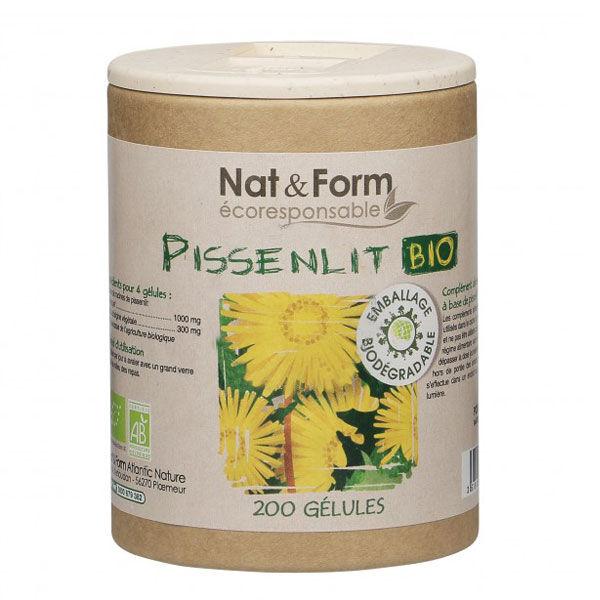 Nat & Form Eco Responsable Pissenlit Bio 200 gélules végétales