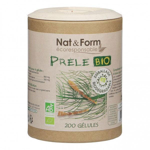 Nat & Form Eco Prêle Bio 200 gélules