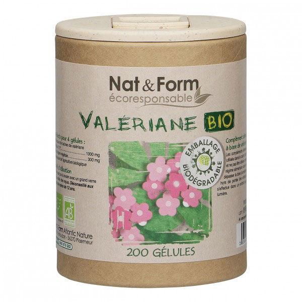 Nat & Form Eco Valériane Bio 200 gélules
