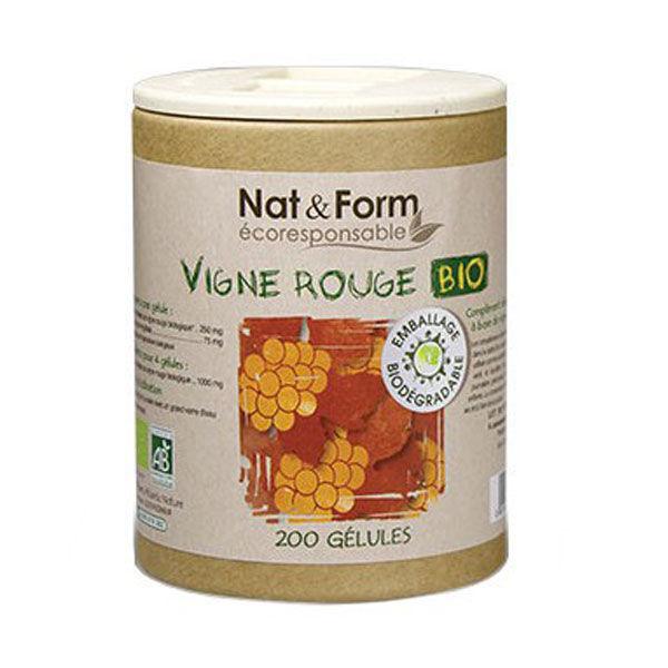 Nat & Form Eco Vigne Rouge Bio 200 gélules