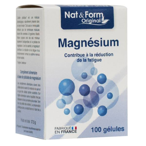 Nat & Form Magnesium Pidolate 100 gélules