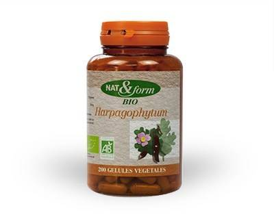 Nat & Form Harpagophytum Bio 200 gélules