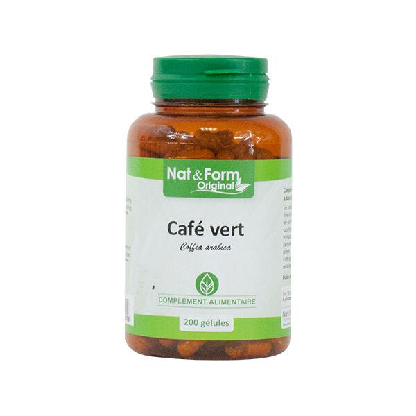 Nat & Form Café Vert 200 gélules