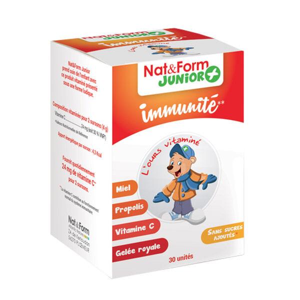 Nat & Form Ours+ Immunité 30 oursons