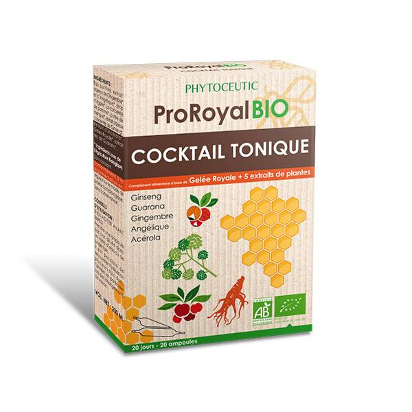 Pro Royal Bio Cocktail Tonique 20 x 10ml