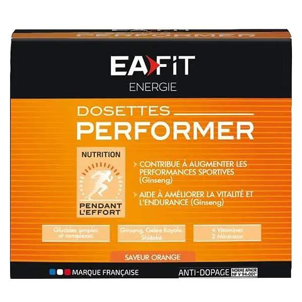 Eafit Energie Performer Orange 10 dosettes