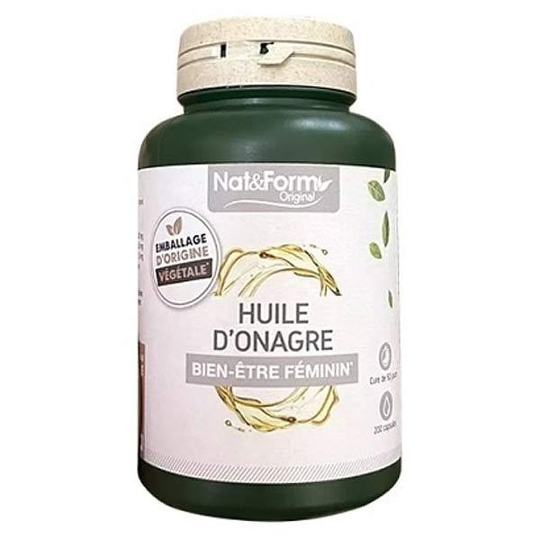 Nat & Form Original Huile Onagre Bien-Être Féminin 200 capsules