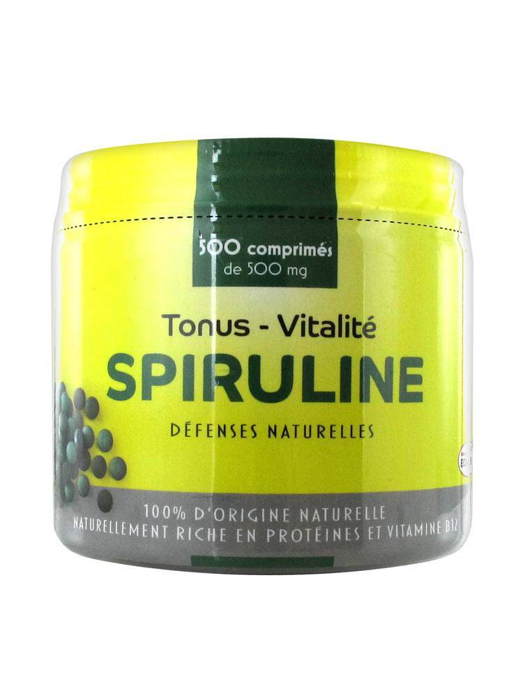 Pharm'up Spiruline 500 comprimés