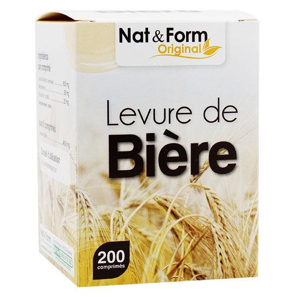 Nat & Form Levure de Bière 200 comprimés