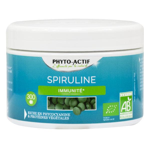 Phyto-Actif Phytoactif Spiruline Bio 300 comprimés