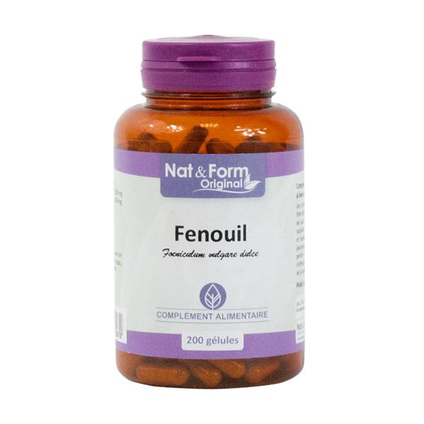 Nat & Form Fenouil 200 gélules