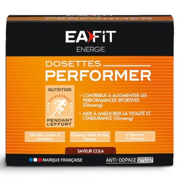 Eafit Energie Performer Cola 10 dosettes
