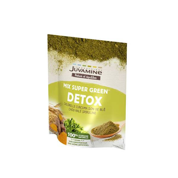 2064438 Juvamine Mix Super Green Détox 200g