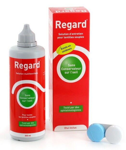 Horus Pharma Regard Solution d'Entretien pour Lentilles Souples 355ml + étui