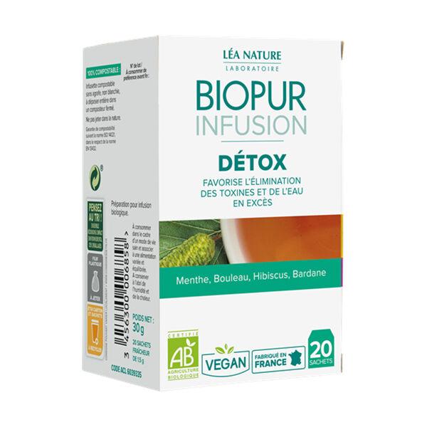 Biopur Infusion Détox 20 sachets