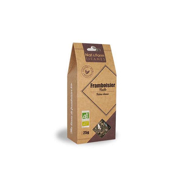 Nat & Form Tisane Framboisier Feuille Bio 25g