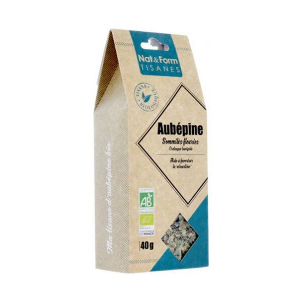 Nat & Form Les Tisanes Aubépine Bio 40g