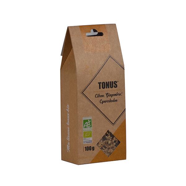 Nat & Form Les Tisanes Bio Tonus 100g