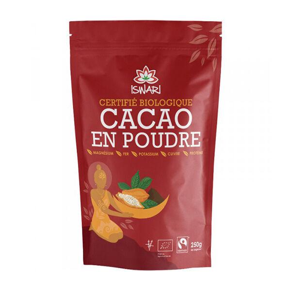 Iswari Cacao Cru en Poudre Bio 250g
