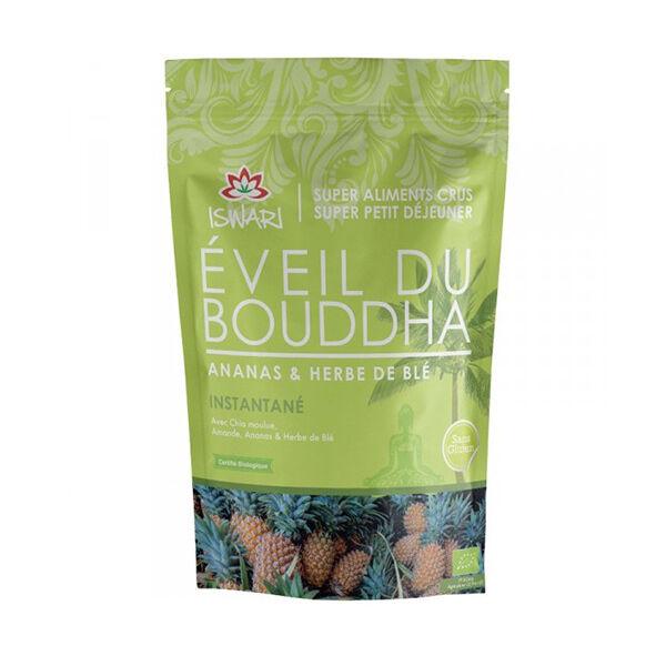 Iswari Eveil du Bouddha Ananas & Herbe Blé Bio 360g