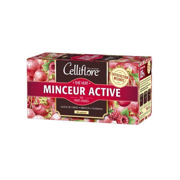 Celliflore Thé Vert Minceur Active 25 sachets