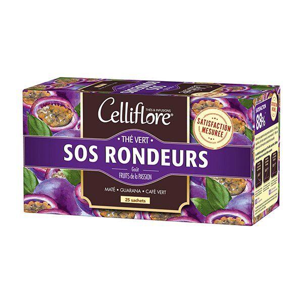 Celliflore Thé Vert SOS Rondeurs 25 sachets