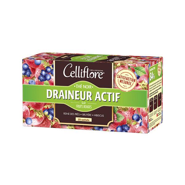 Celliflore Thé Noir Draineur Actif 25 sachets