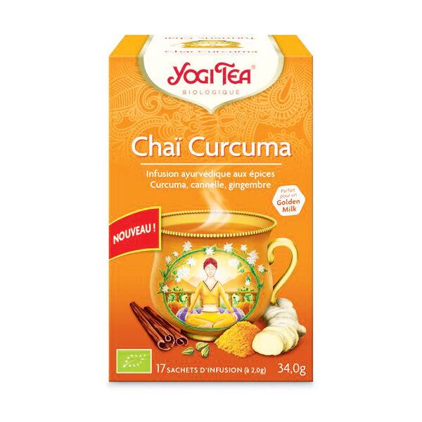 Yogi Tea Chaï Curcuma 17 sachets